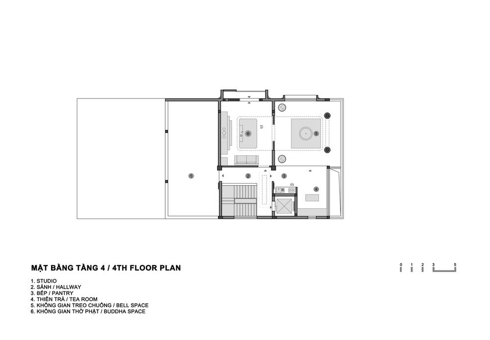 Mãn nhãn với biệt thự cũ bỏ hoang được cải tạo thành không gian chữa bệnh cho tâm hồn - Ảnh 10.