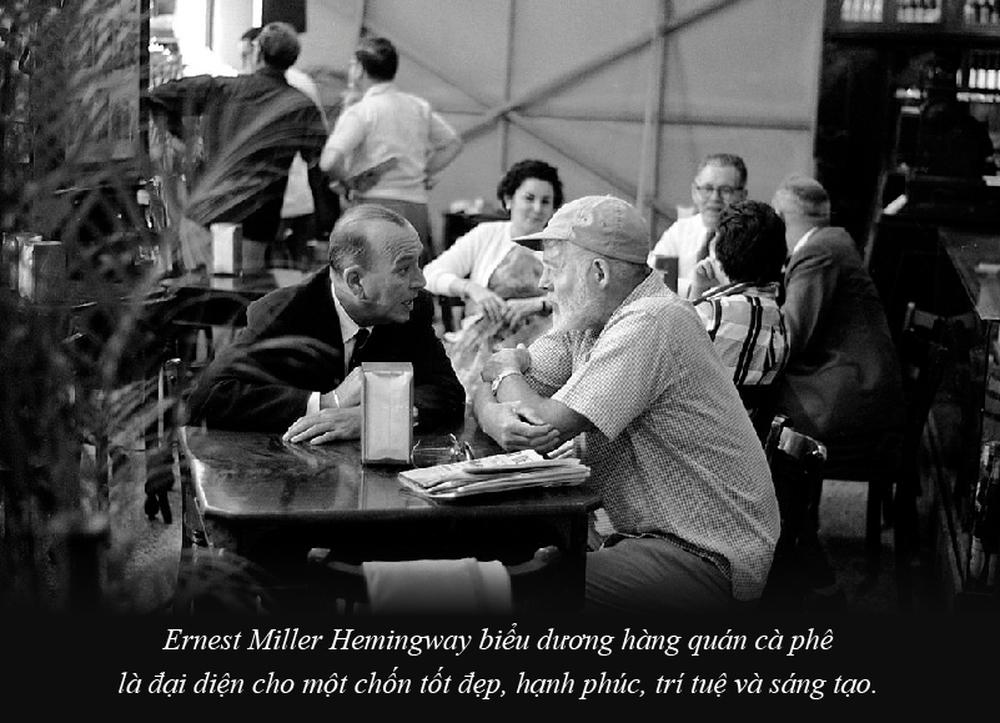 Ernest Miller Hemingway và những kiệt tác văn chương viết tại quán cà phê - Ảnh 4.