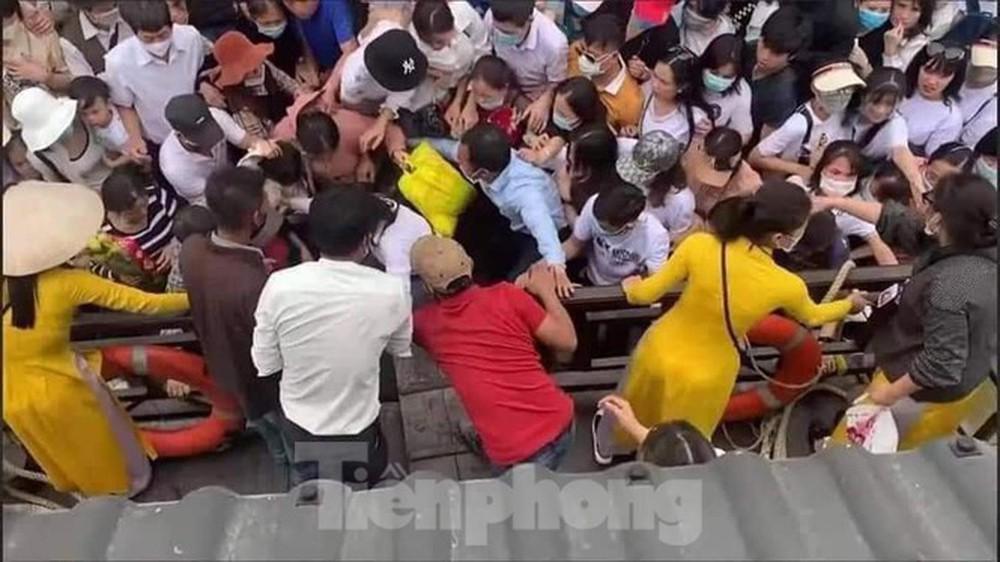 Tỉnh Hà Nam chỉ đạo kiểm tra công tác phòng chống dịch tại chùa Tam Chúc - Ảnh 5.