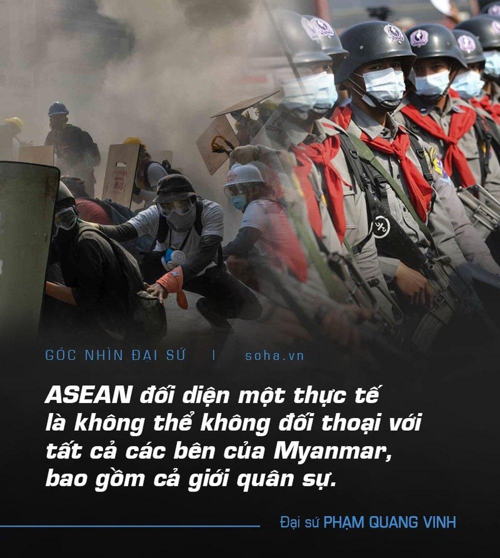Khe cửa hẹp ở Myanmar: Khéo léo lách qua hay đổ máu? - Ảnh 5.