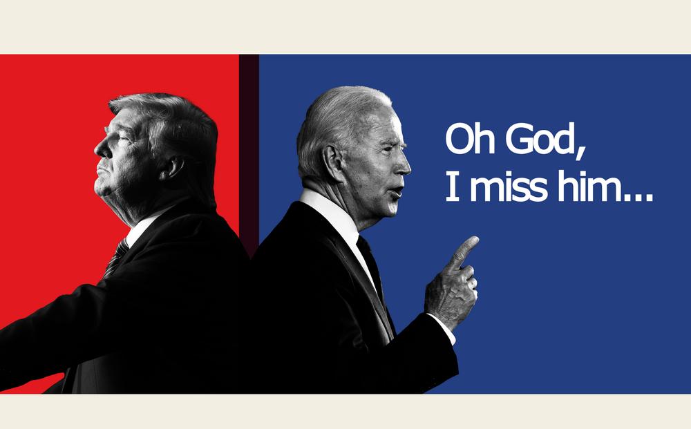 """TT Biden nói về ông Trump trong cuộc họp báo chính thức đầu tiên: """"Ôi Chúa ơi, tôi NHỚ ông ấy!"""""""