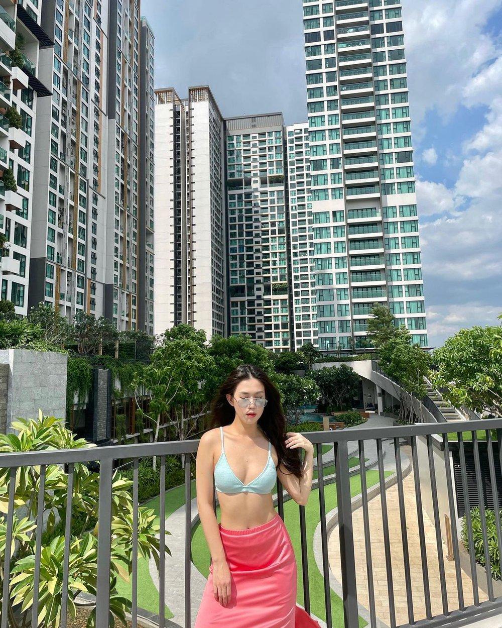 Hot girl số 1 Sài Thành diện bikini khoe thân hình nóng bỏng tuổi 31 - Ảnh 4.