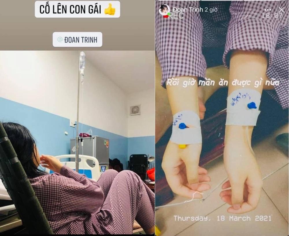 Khánh Trinh, con gái Hoàng Mập sốt 40 độ, nhập viện cấp cứu vì thói quen nguy hiểm - Ảnh 1.
