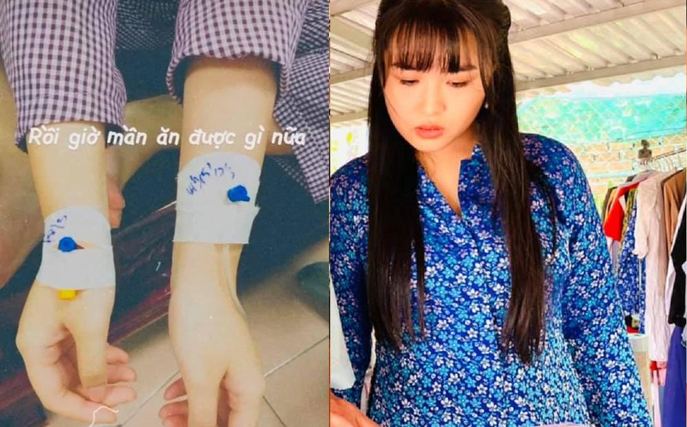 Khánh Trinh, con gái Hoàng Mập sốt 40 độ, nhập viện cấp cứu vì thói quen nguy hiểm