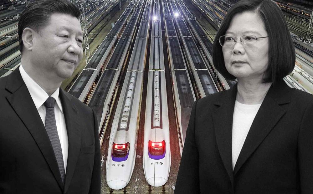 """Dân đảo Đài Loan """"cười lăn cười bò"""" với kế hoạch của Trung Quốc xây đường từ Bắc Kinh đến Đài Bắc"""