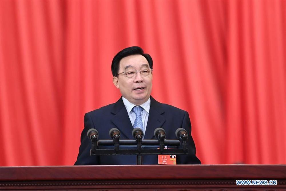 Quốc hội Trung Quốc sẽ thiết lập hệ thống bầu cử dân chủ mang đặc sắc Hồng Kông - Ảnh 1.