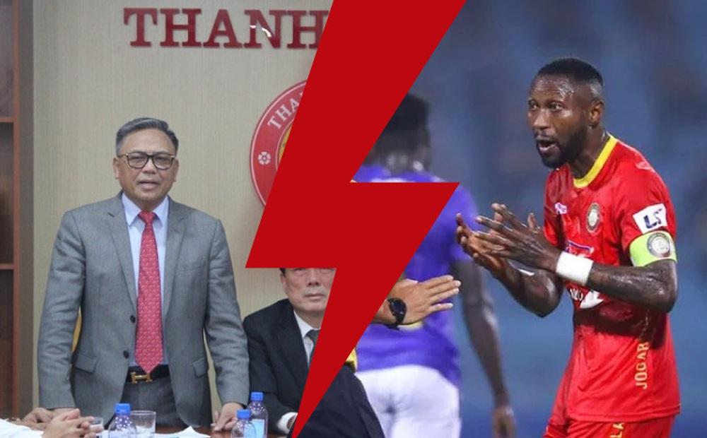 Hoàng Vũ Samson đen đủi khi vớ phải CLB Thanh Hóa giữa sự rối ren đầy nghiệp dư của V.League