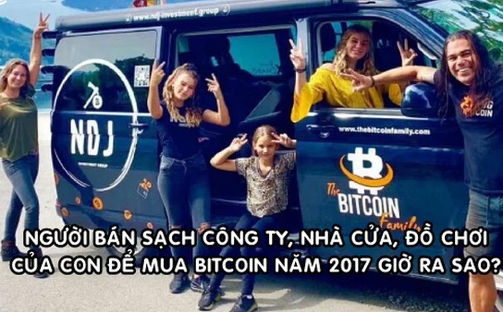 Người bán hết nhà cửa, công ty thậm chí cả đồ chơi của con để 'tất tay' mua Bitcoin từ năm 2017 giờ ra sao?