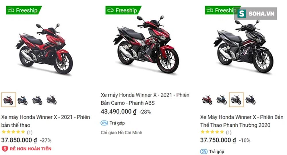 Giá Honda Winner X giảm mạnh trong tháng 4, phiên bản giới hạn gây sốt - Ảnh 1.
