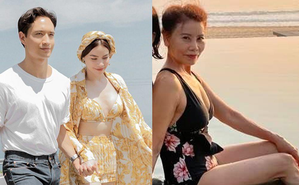 Kim Lý nịnh nọt mẹ Hồ Ngọc Hà nhưng lại nhận cái kết đắng