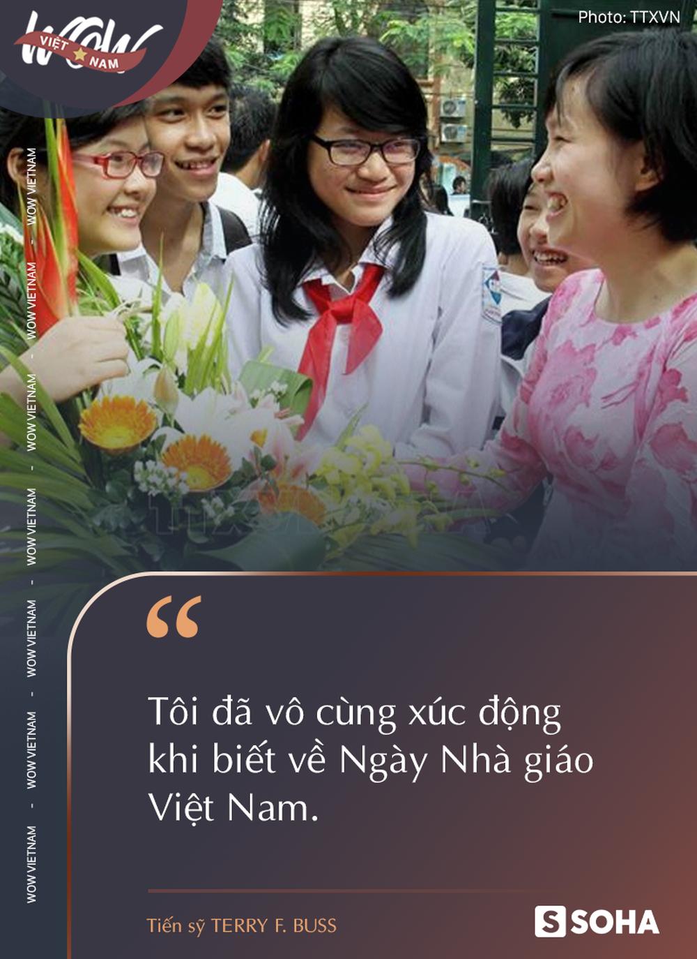 Tiến sỹ Mỹ: Làm thầy của sinh viên Việt Nam thì chắc chắc sẽ được nhận phần thưởng đặc biệt… - Ảnh 9.