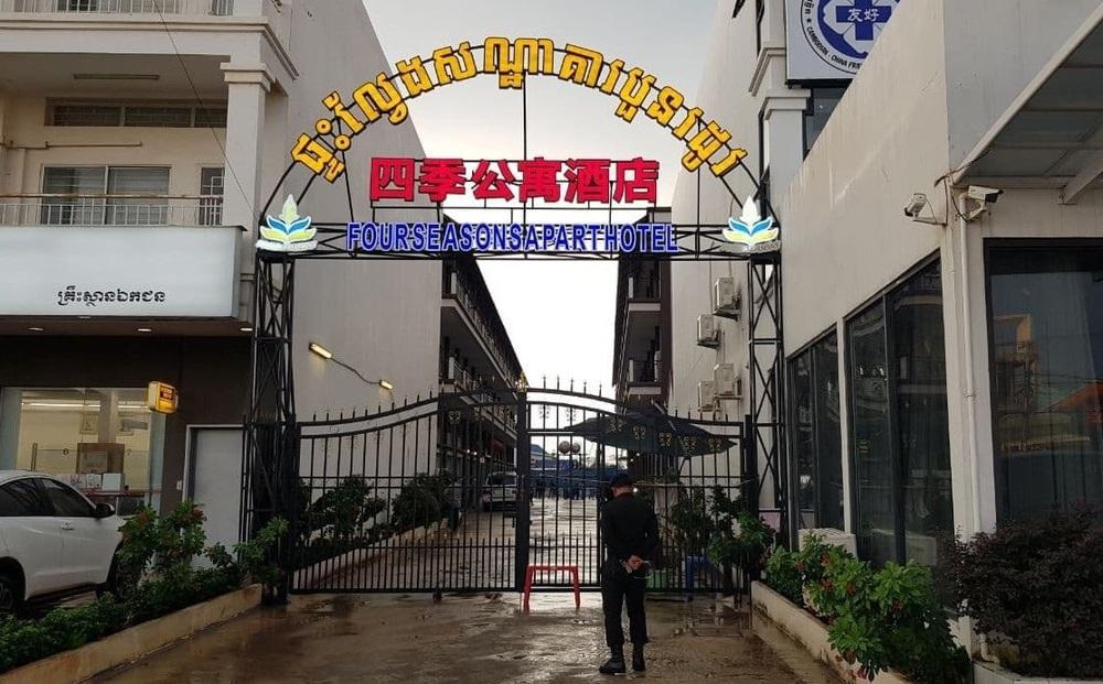 Campuchia bắt giữ gần 200 người nước ngoài vượt biên trái phép từ Việt Nam