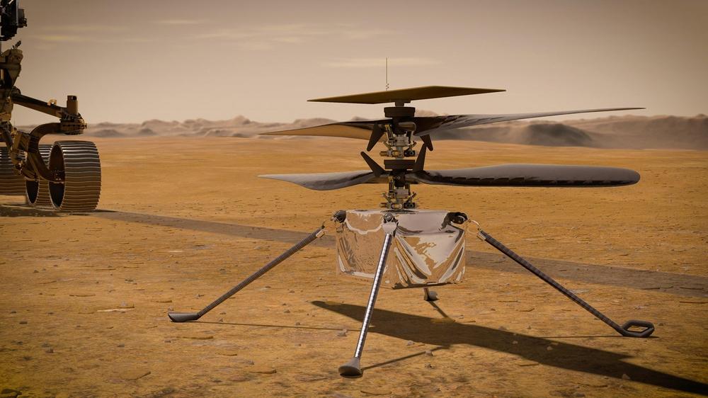 Trực thăng 85 triệu đô của Mỹ sống sót qua đêm đầu tiên trên sao Hỏa: -90 độ C cũng không giết được Ingenuity - Ảnh 1.