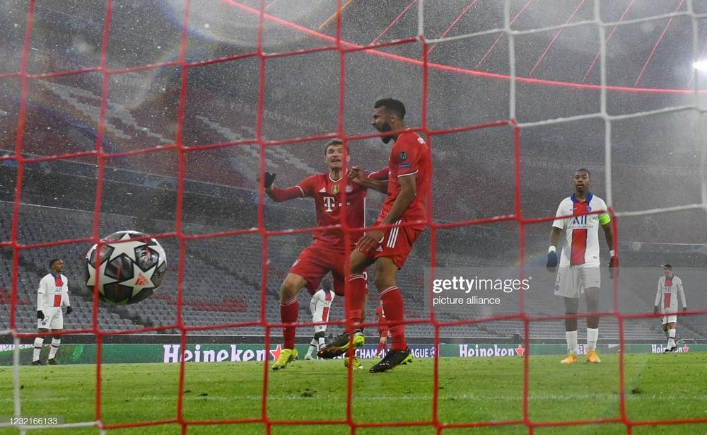 Song kiếm hợp bích, Neymar và Mbappe nhấn chìm Bayern Munich trong cơn mưa bàn thắng - Ảnh 3.