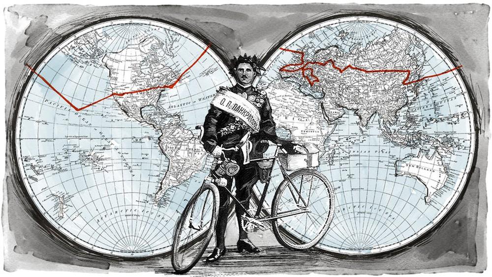 """Hành trình """"vô tiền khoáng hậu"""" của người đàn ông Nga đạp xe vòng quanh thế giới cách đây 100 năm - Ảnh 3."""