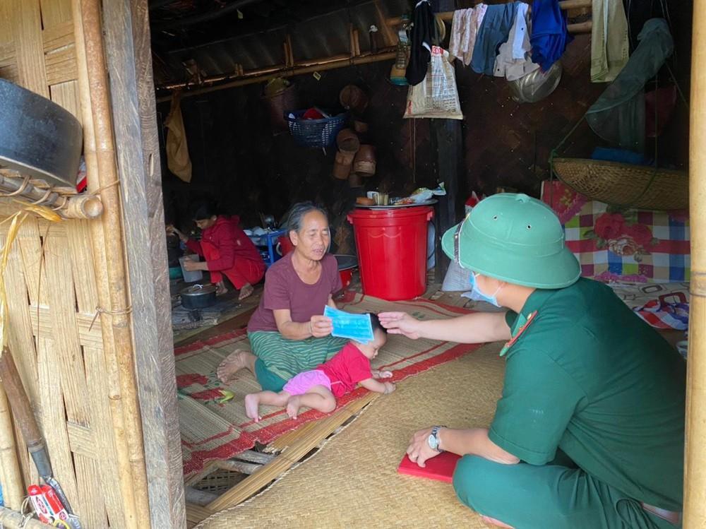 Lập vành đai chống dịch COVID-19 ở biên giới Việt - Lào - Ảnh 3.