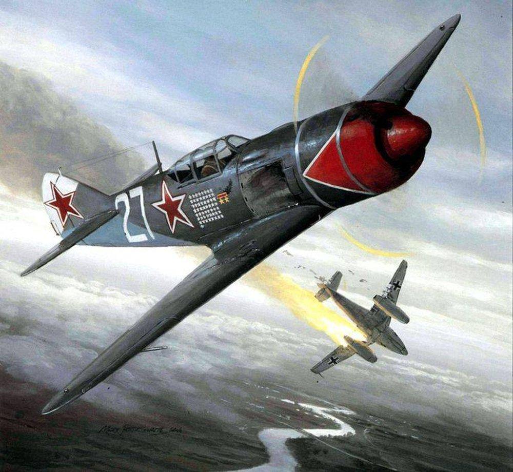 Phi công Liên Xô vĩ đại nhất, bất đắc dĩ bắn rơi tiêm kích tốt nhất của Mỹ - Ảnh 2.