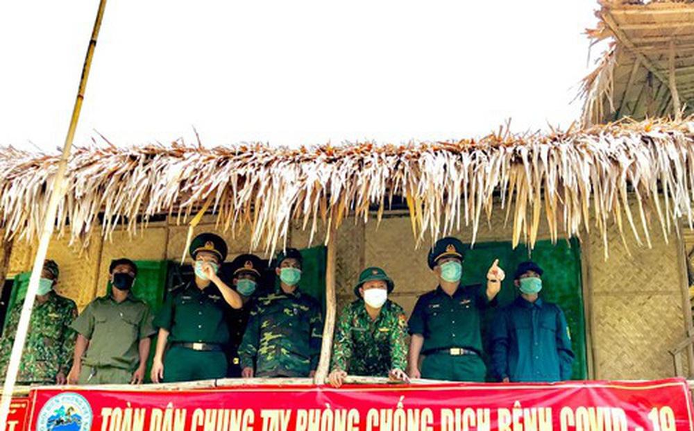 Lập vành đai chống dịch COVID-19 ở biên giới Việt - Lào