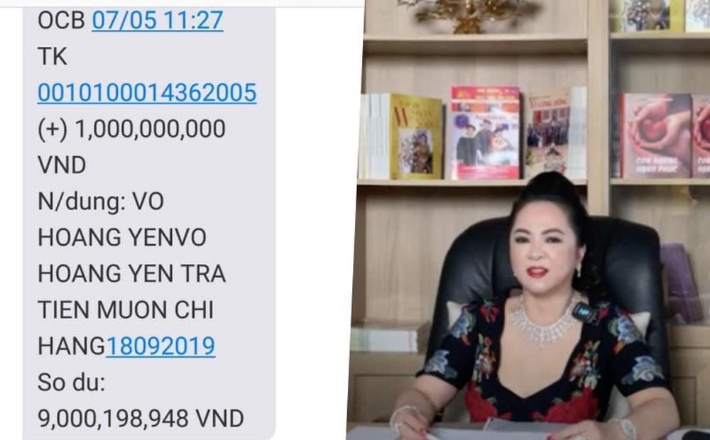 Điều bất thường trong số tiền gần 17 tỷ đồng mà ông Võ Hoàng Yên mới trả bà Phương Hằng, vợ đại gia Dũng lò vôi?