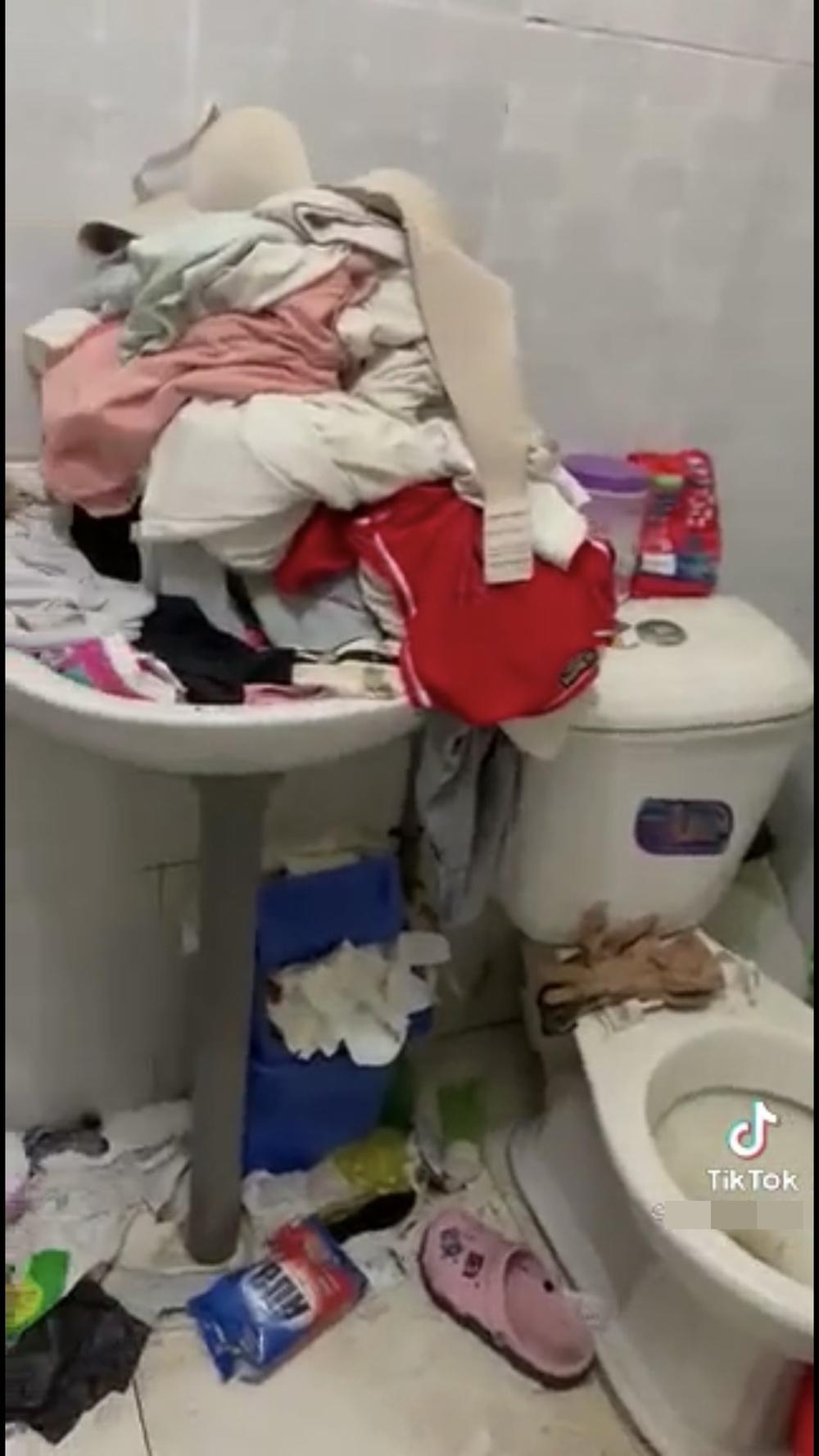 Chủ trọ phát hoảng khi kiểm tra phòng của cô gái xinh đẹp: Rác chất chồng, đồ nhạy cảm cũng không vứt - Ảnh 5.