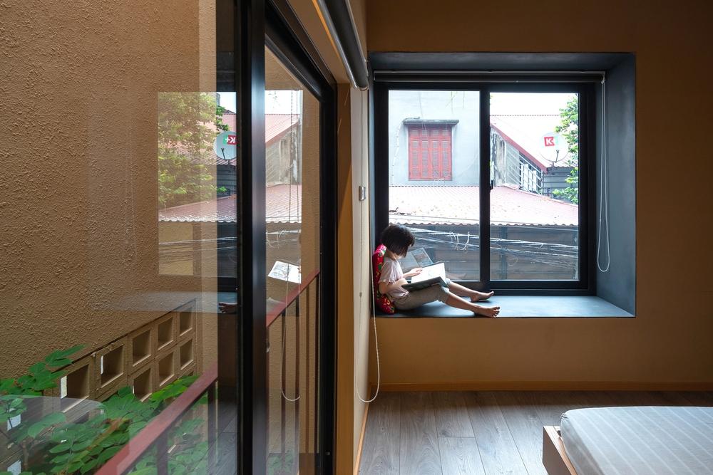 Chiêm ngưỡng ngôi nhà với thiết kế tinh giản đầy mê hoặc ở Trâu Quỳ - Ảnh 5.