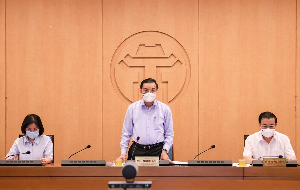 Chủ tịch Hà Nội yêu cầu công an vào cuộc xem xét vụ Giám đốc Hacinco mắc Covid-19 nếu có thêm F0 - Ảnh 1.