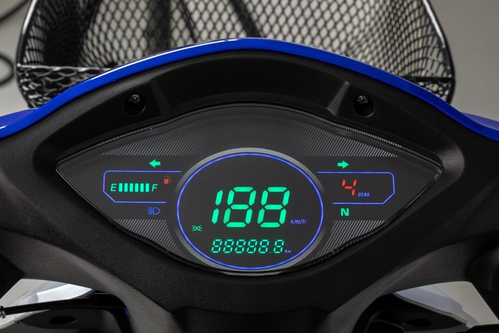 Cận cảnh mẫu xe máy Thái đi 100km tốn 2,2 lít xăng, giá 23 triệu -  thách thức Honda Wave Alpha - Ảnh 6.