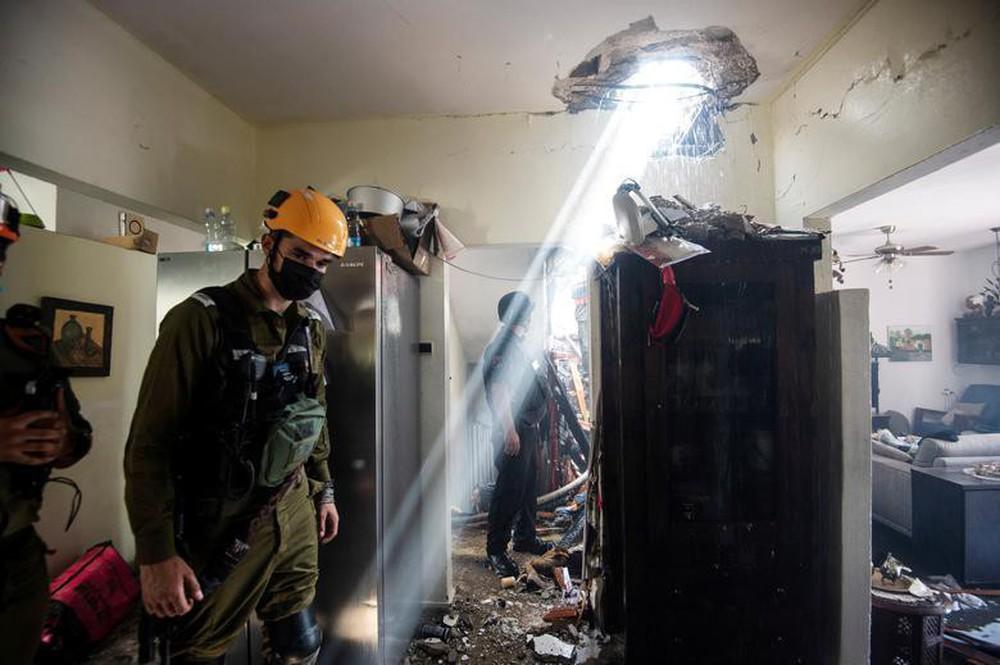 Hứng 2.000 quả rocket của Hamas, vùng biên Israel hóa thị trấn ma - Ảnh 8.