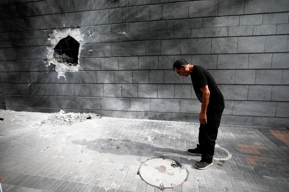 Hứng 2.000 quả rocket của Hamas, vùng biên Israel hóa thị trấn ma - Ảnh 10.