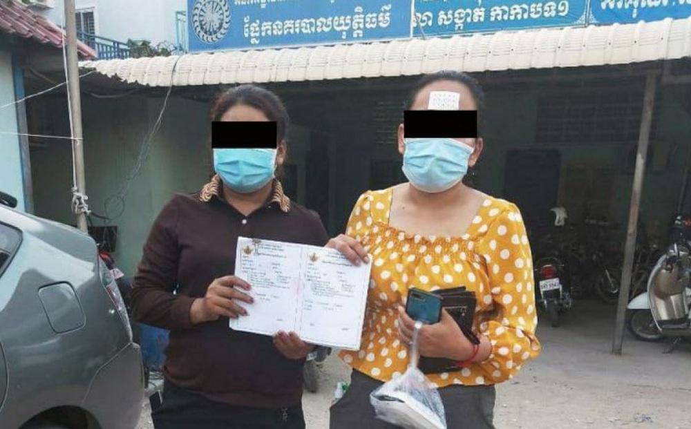 Campuchia bắt 2 phụ nữ bán giấy chứng nhận tiêm chủng vaccine Covid-19 giả