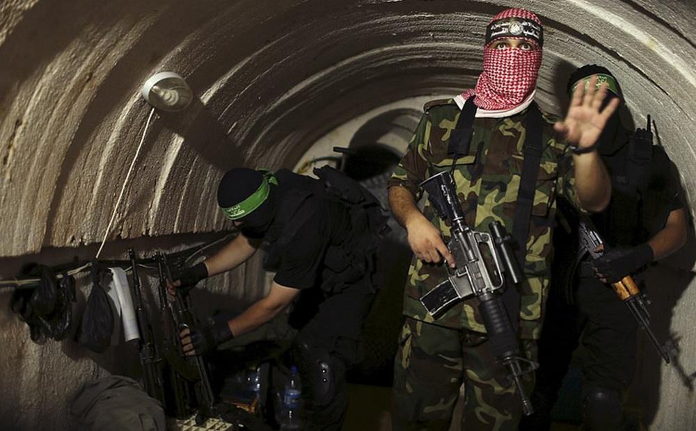 Ảnh: Mạng lưới đường hầm phong trào Hamas dựng để qua mặt Israel
