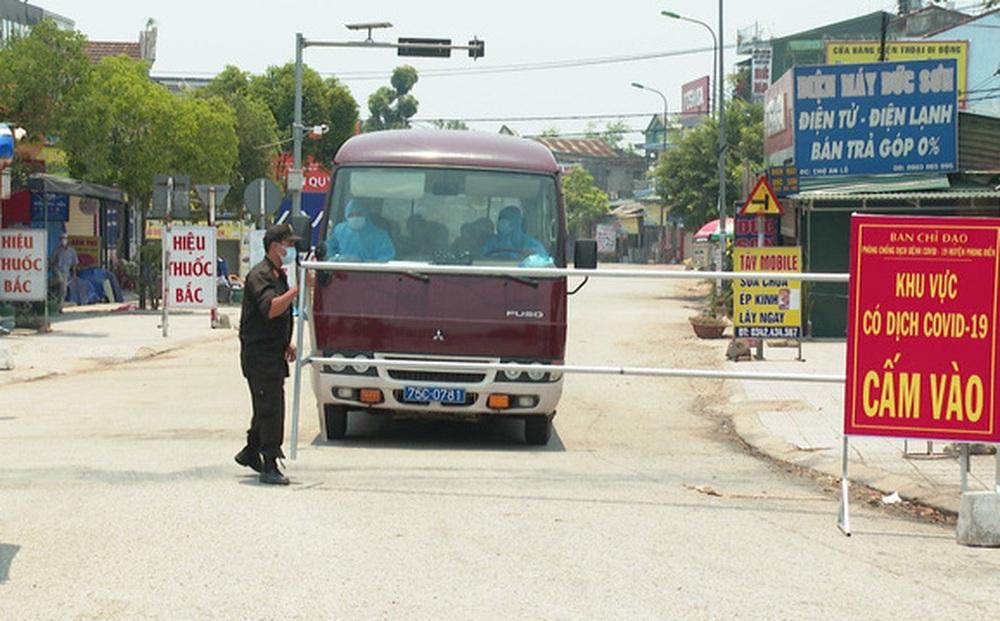 Người ở Đà Nẵng về Thừa Thiên Huế phải cách ly 21 ngày