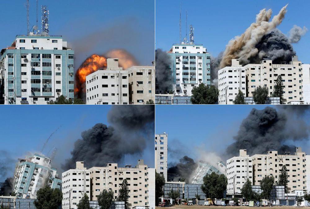 Phá hủy hàng loạt trụ sở báo chí, Israel bị tố bịt miệng giới truyền thông  - Ảnh 1.
