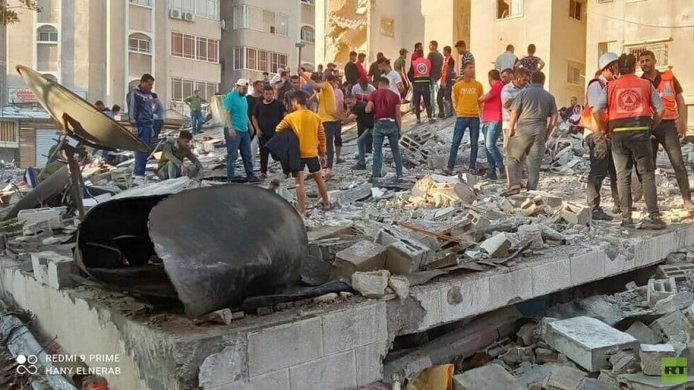 Israel tiếp tục không kích Dải Gaza ngày thứ 7 liên tiếp - Ảnh 2.