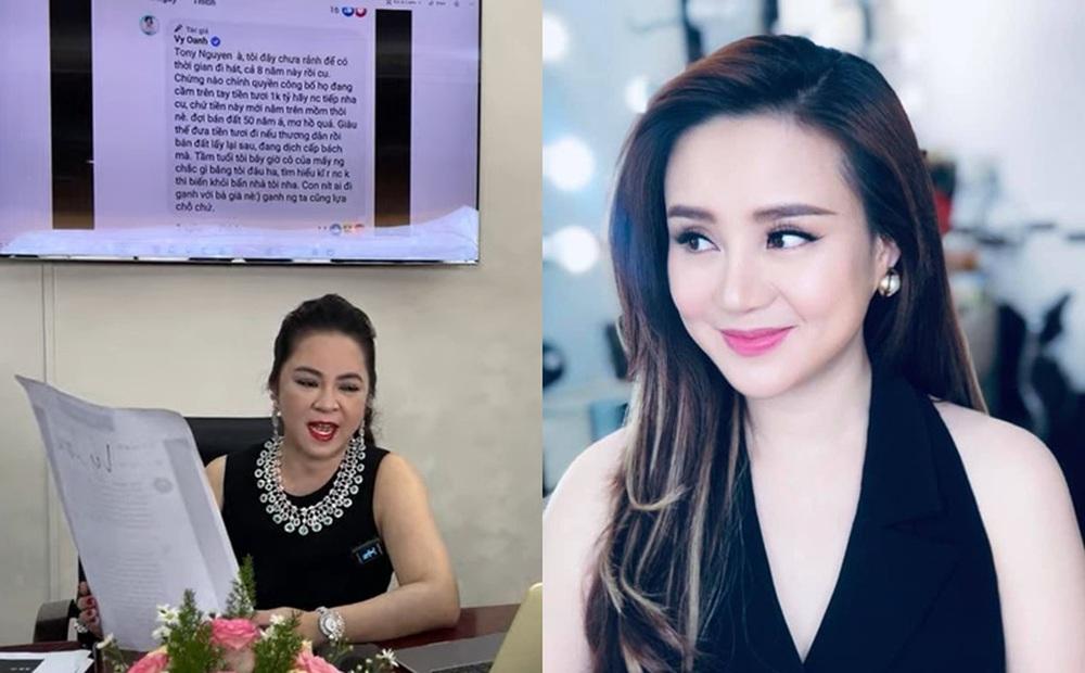 Bị Vy Oanh nghi ngờ chuyện từ thiện 1000 tỷ, bà Phương Hằng: Tôi sẽ lôi hết dĩ vãng của cô này ra