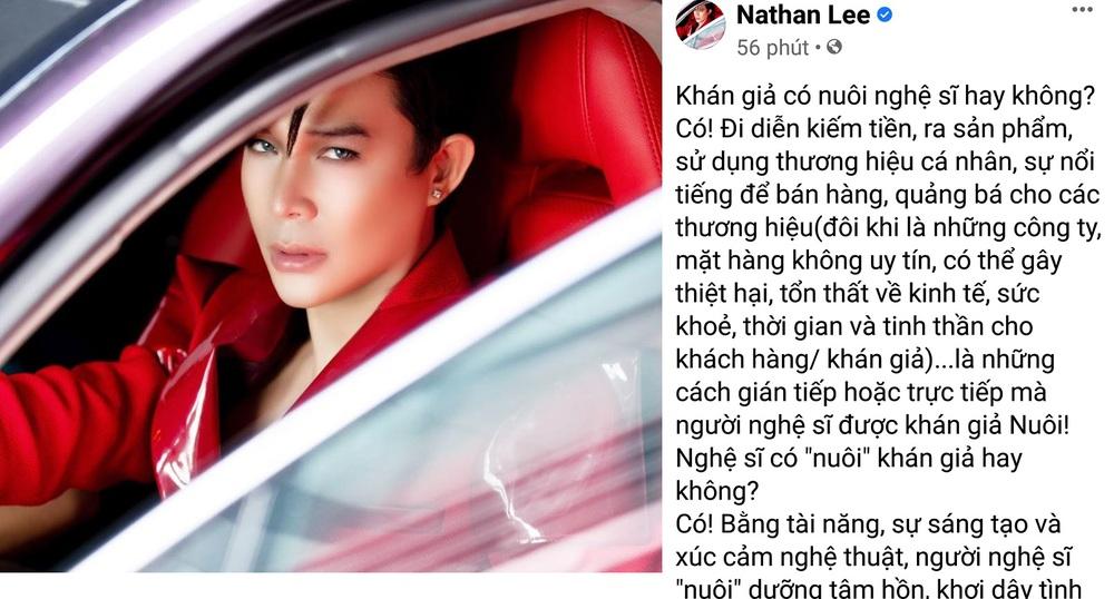 Nathan Lee nói thẳng vụ khán giả nuôi nghệ sĩ: Đừng dùng bàn phím cào nát mặt họ! - Ảnh 1.