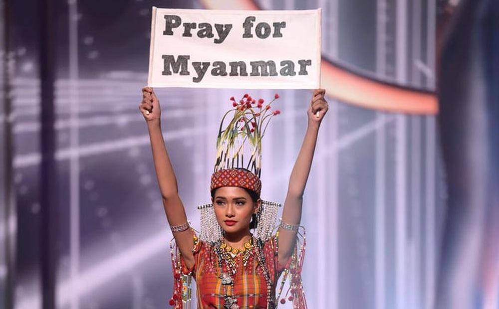 Thực hư thông tin Hoa hậu Myanmar bị truy nã vì giơ bảng cầu cứu trên sân khấu Chung kết HHHV: Kết quả tìm kiếm bất ngờ