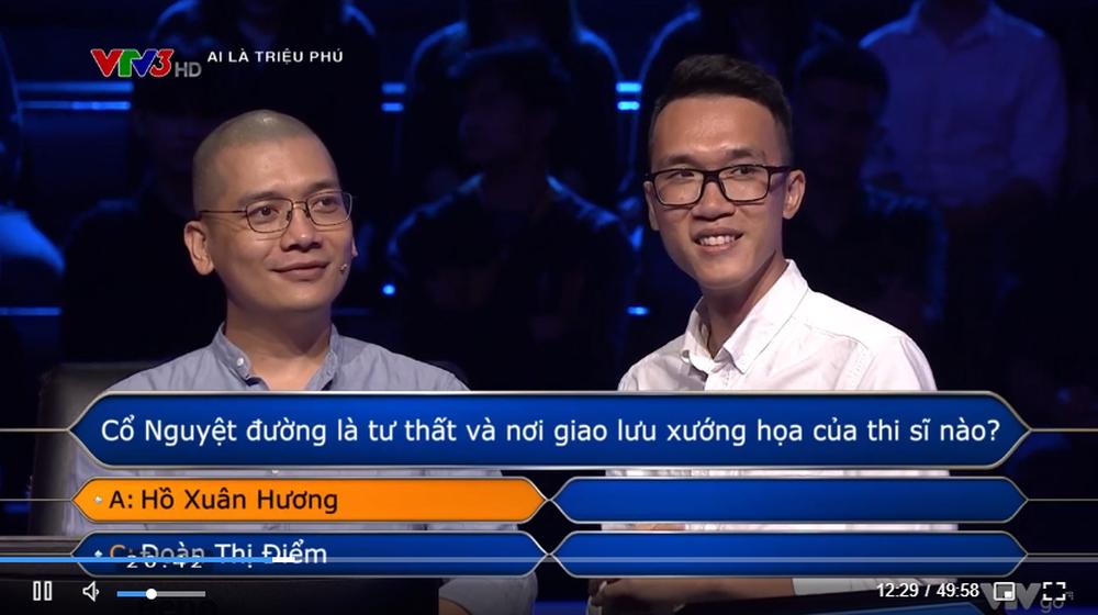 Mạnh dạn đoán bừa, nhiếp ảnh gia Trần Tuấn Việt giật giải lớn ở Ai là triệu phú - Ảnh 3.