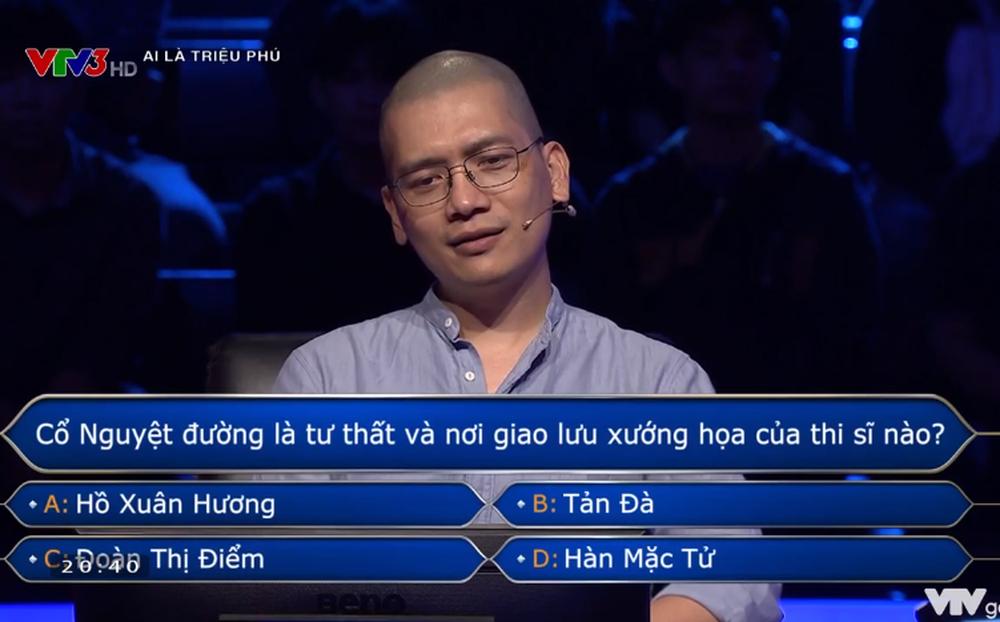 """Mạnh dạn """"đoán bừa"""", nhiếp ảnh gia Trần Tuấn Việt giật giải lớn ở Ai là triệu phú"""