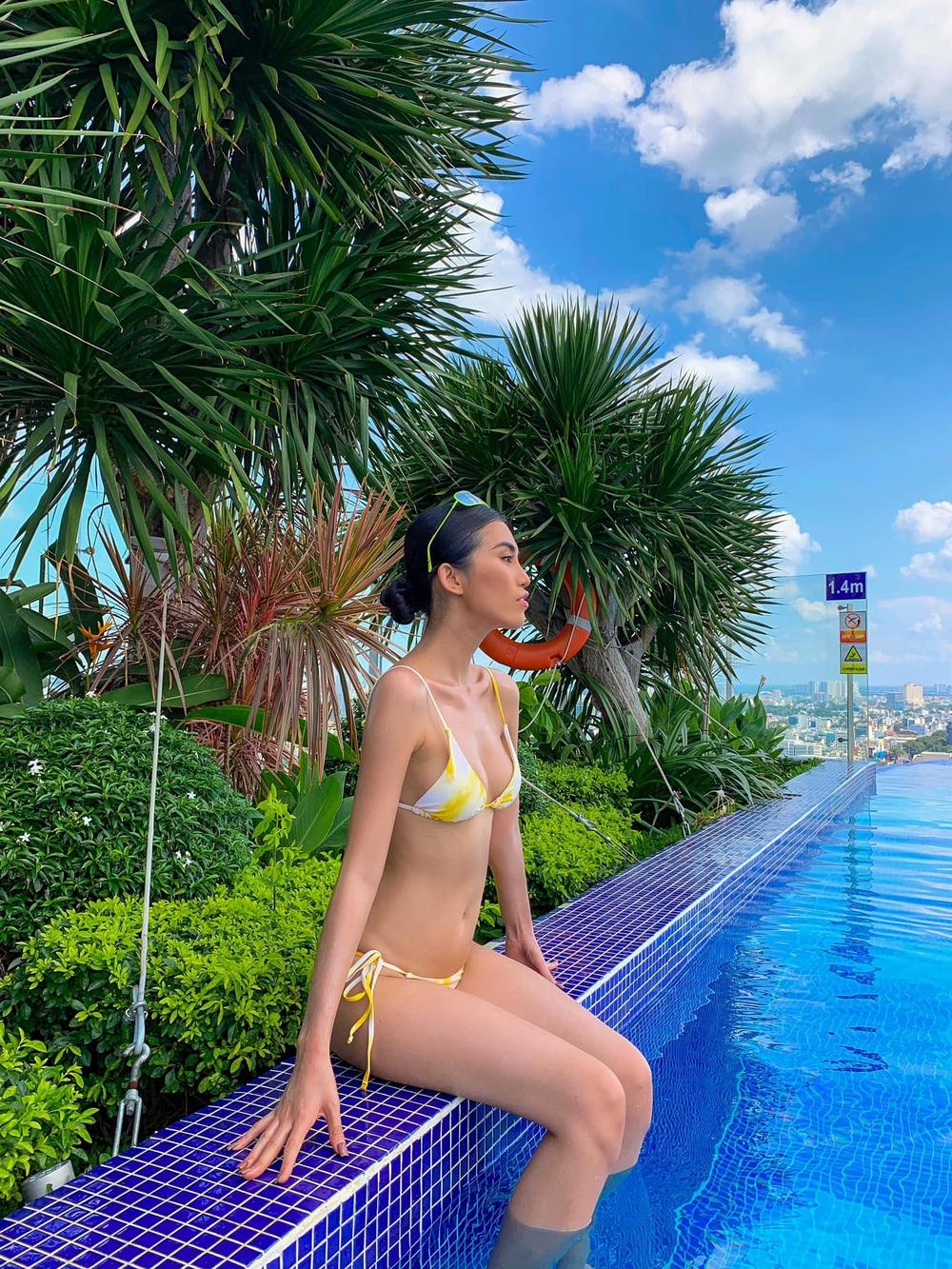 Hậu chia tay tỷ phú U80, người mẫu Việt tung loạt ảnh bikini nóng bỏng - Ảnh 7.