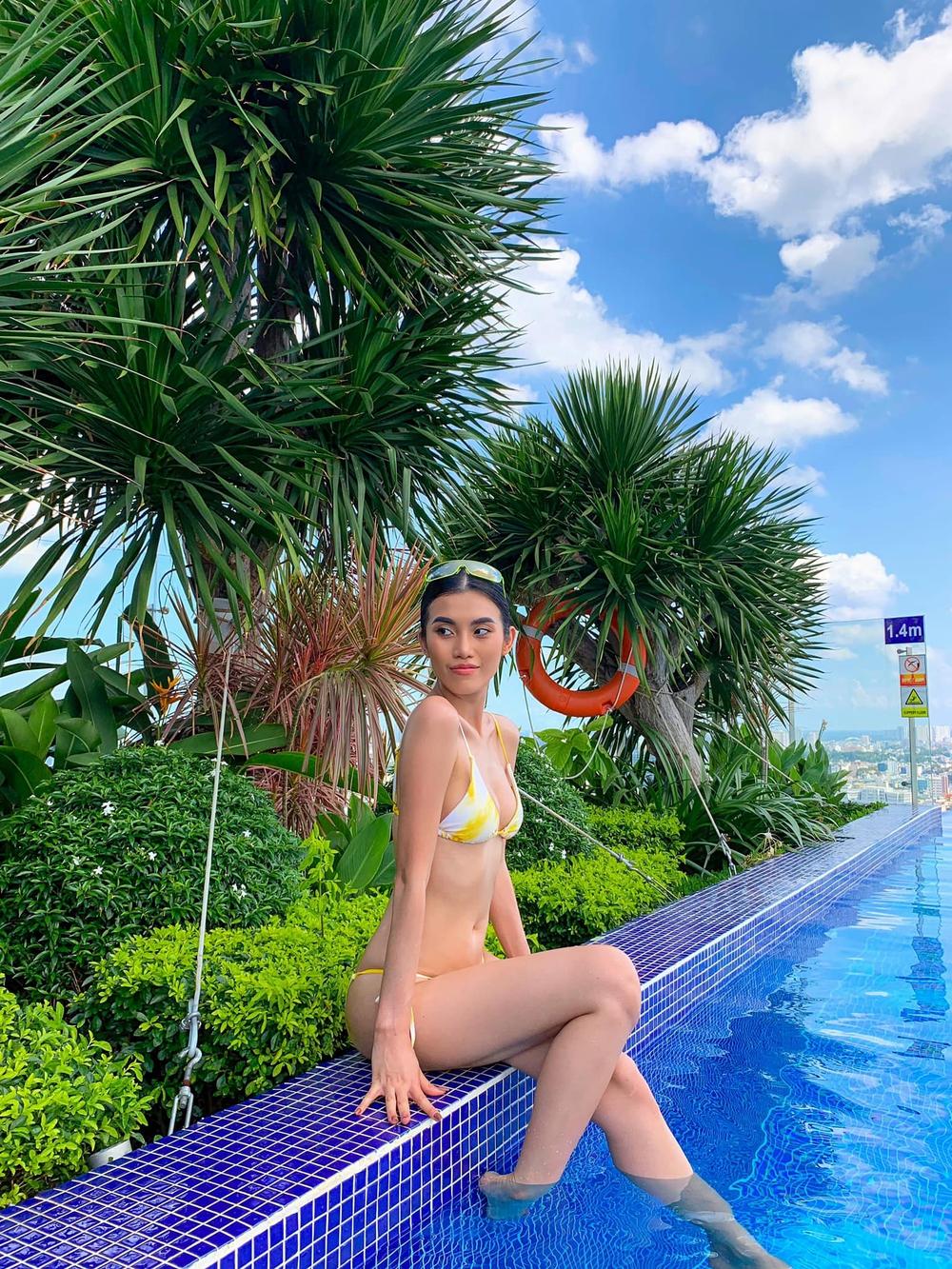 Hậu chia tay tỷ phú U80, người mẫu Việt tung loạt ảnh bikini nóng bỏng - Ảnh 6.