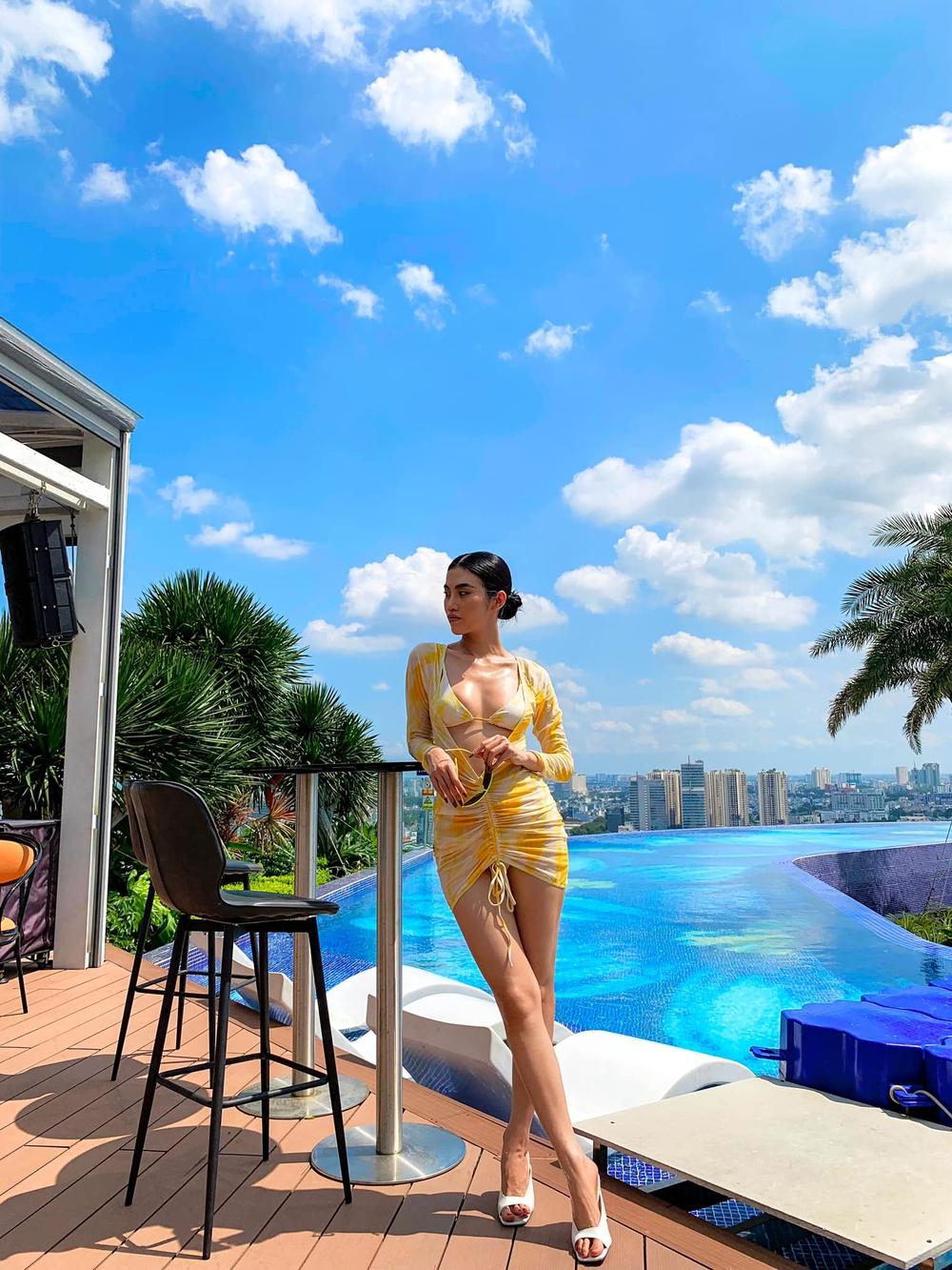 Hậu chia tay tỷ phú U80, người mẫu Việt tung loạt ảnh bikini nóng bỏng - Ảnh 2.