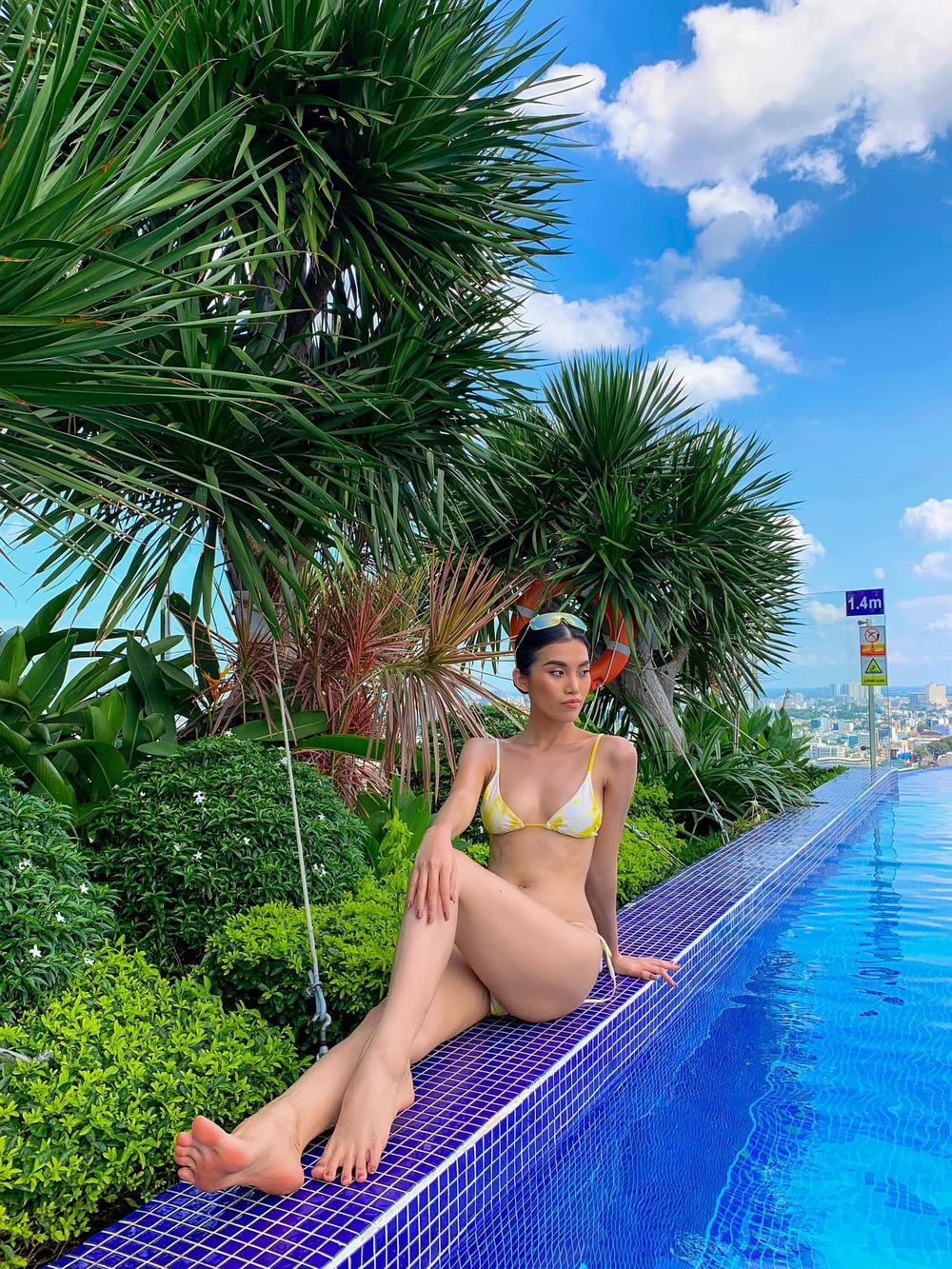 Hậu chia tay tỷ phú U80, người mẫu Việt tung loạt ảnh bikini nóng bỏng - Ảnh 8.