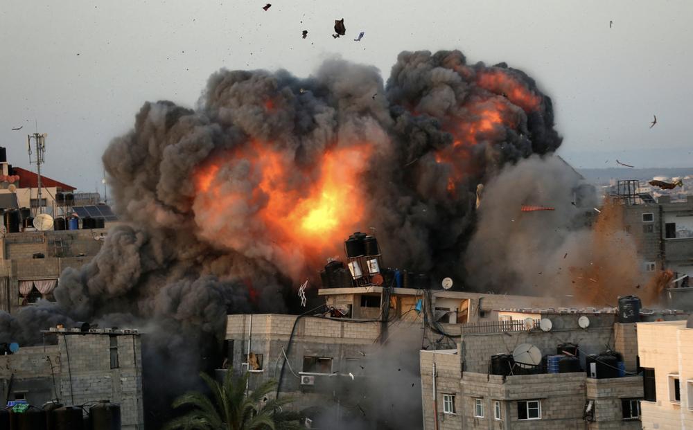 50 tiêm kích Israel xuất trận, kho vũ khí của Hamas ở Gaza bị phá hủy