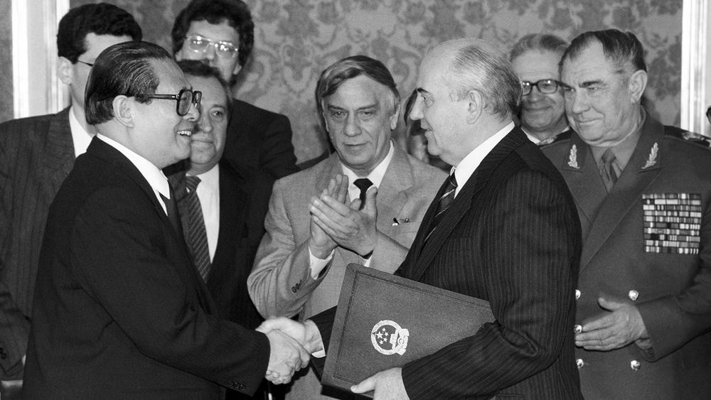 Gorbachev cho không Bắc Kinh đảo của Liên Xô và thỏa thuận vẽ lại biên giới bí mật với TQ - Ảnh 4.