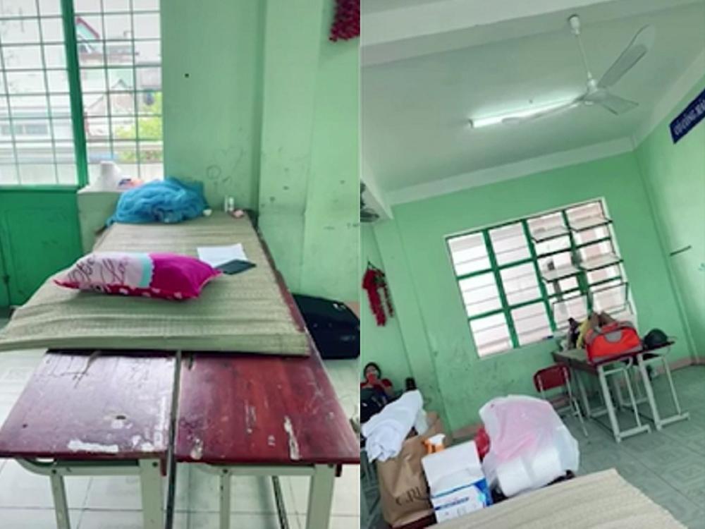 Nữ tiếp viên Vietnam Airlines chê giường ở khu cách ly quá đơn sơ,  dễ rớt xuống đất, đại diện hãng nói gì? - Ảnh 2.