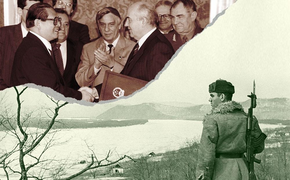 """Gorbachev """"cho không"""" Bắc Kinh đảo của Liên Xô và thỏa thuận vẽ lại biên giới bí mật với TQ"""