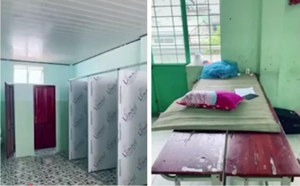"""Nữ tiếp viên Vietnam Airlines chê giường ở khu cách ly """"quá đơn sơ,  dễ rớt xuống đất"""", đại diện hãng nói gì?"""