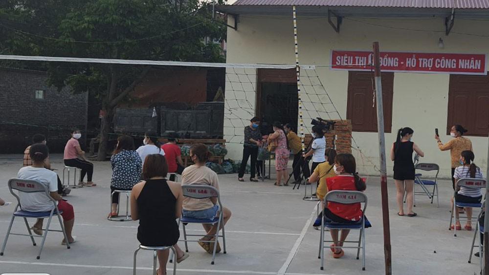 Vì sao điểm nóng Bắc Giang cho phép mở lại một số quán ăn chuyên phục vụ công nhân ở Việt Yên, Yên Dũng? - Ảnh 2.