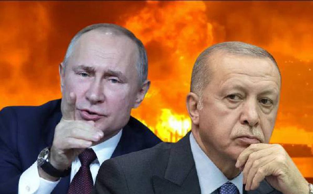 """Muốn mượn tay Nga nhưng """"bỏ quên"""" ông Putin, Thổ Nhĩ Kỳ bị vùi dập phũ phàng và """"chơi"""" ngược lại"""